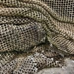 fishing nets red pesca Porto do Son Muros Galicia marina photo art travel
