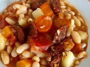 Galician sopa white bean spain food photos art travel