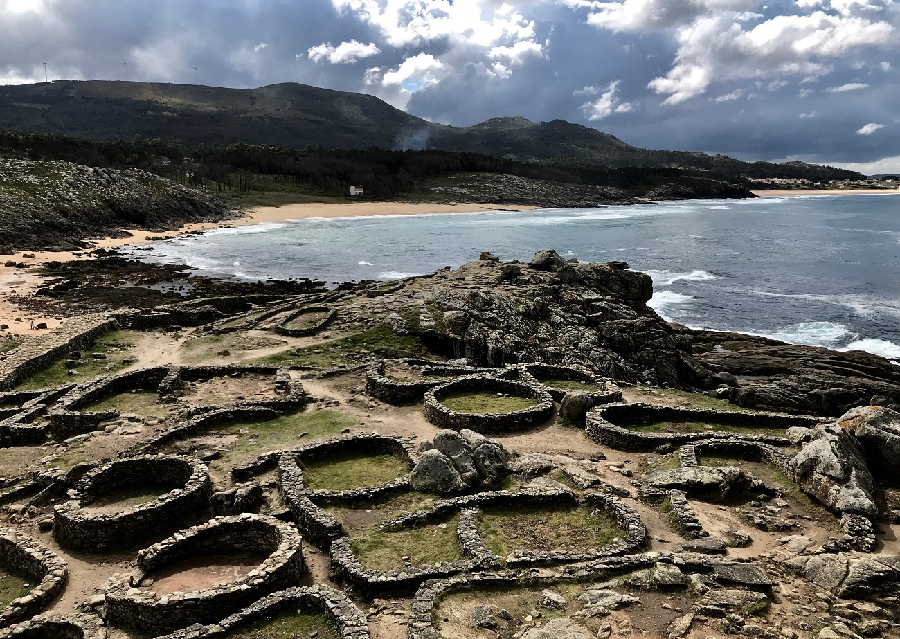 Castro de Barona hill forts Porto do Son Galicia seascapes celtic photo art travel