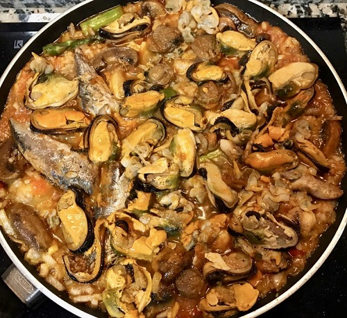 seafood paella galicia spain chef best
