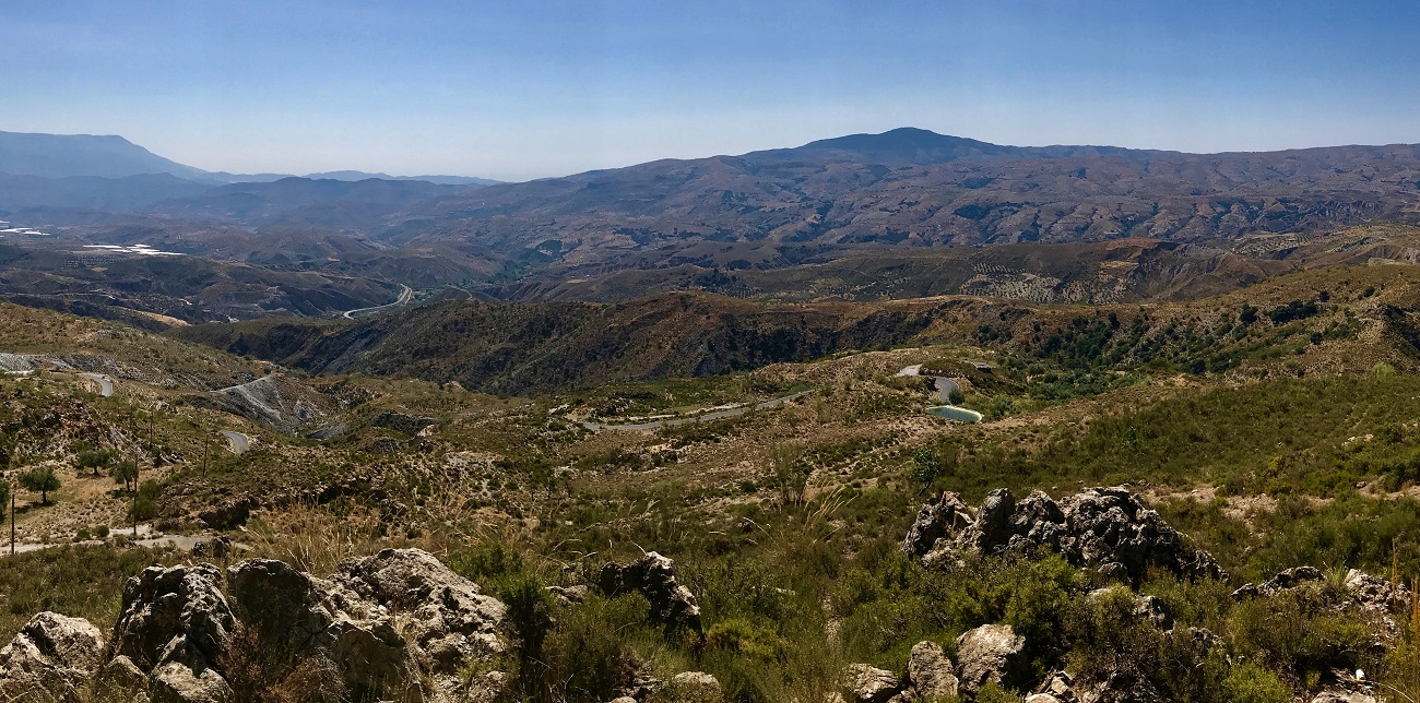 alpujarras sierra nevada GR7 hiking walking valor photo landscape spain