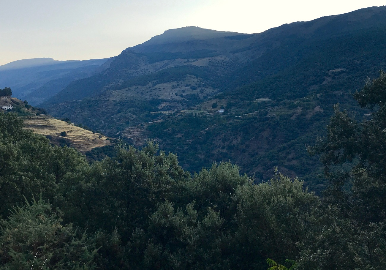 sunrise alpujarras sierra nevada gr7 walking hiking spain photo art travel