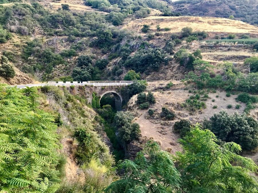 roman bridge alpujarras sierra nevada Busquitar gr7 walking hiking photo art travel