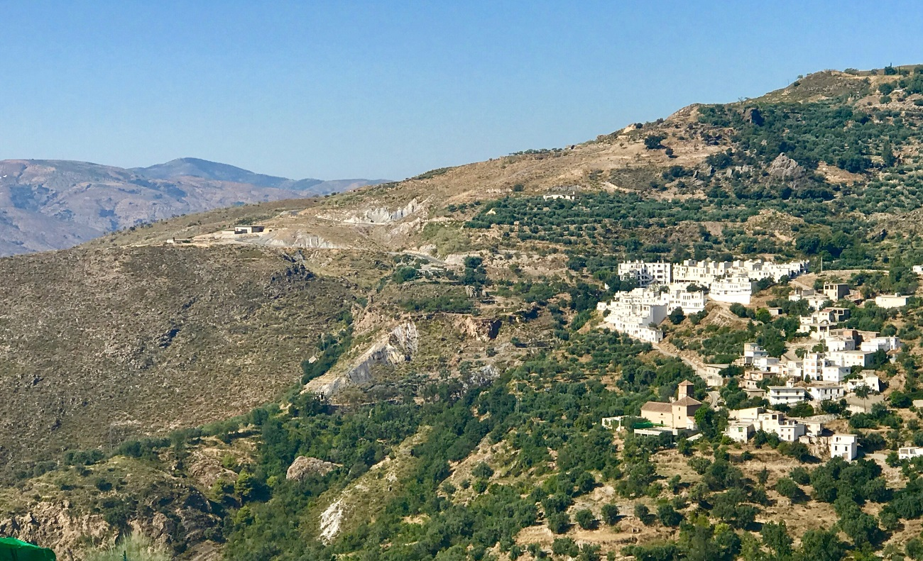 Alpujarras sierra nevada GR7 Berchules moorish white villages Spain photo landscape art travel