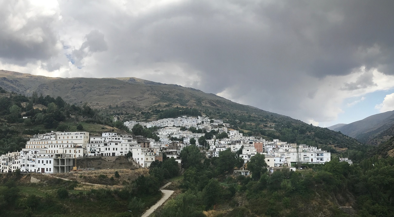 alpujarras sierra nevada gr7 walking hiking trevelez Spain moorish village photo art travel